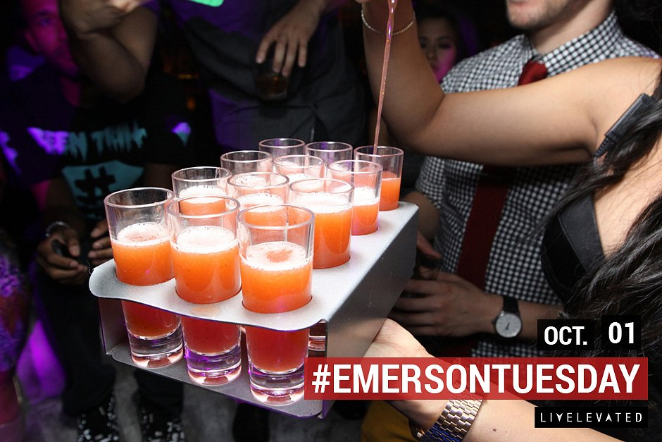 Pour It Up, Pour It Up, Tuesday. at The Emerson Theatre