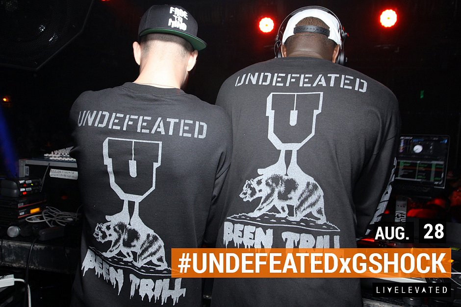 Undefeated and G Shock Launch Party at Sound Nightclub