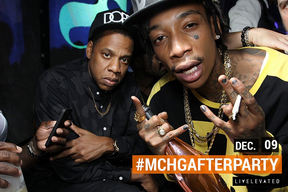 Jay Z Hosts MCHG After Party at Lure Nightclub