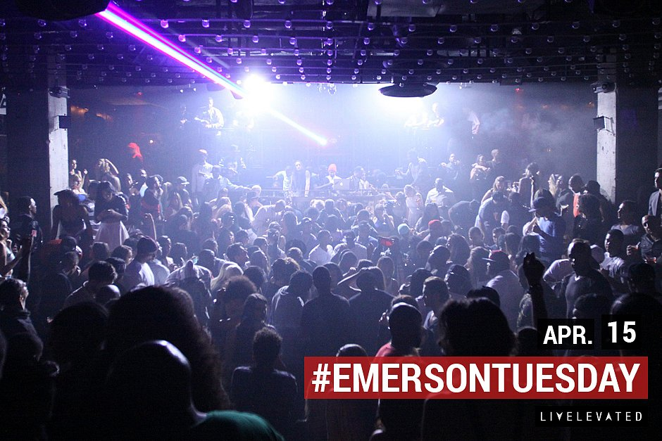The Tuesday Rush, Tuesday. at the Emerson Theatre