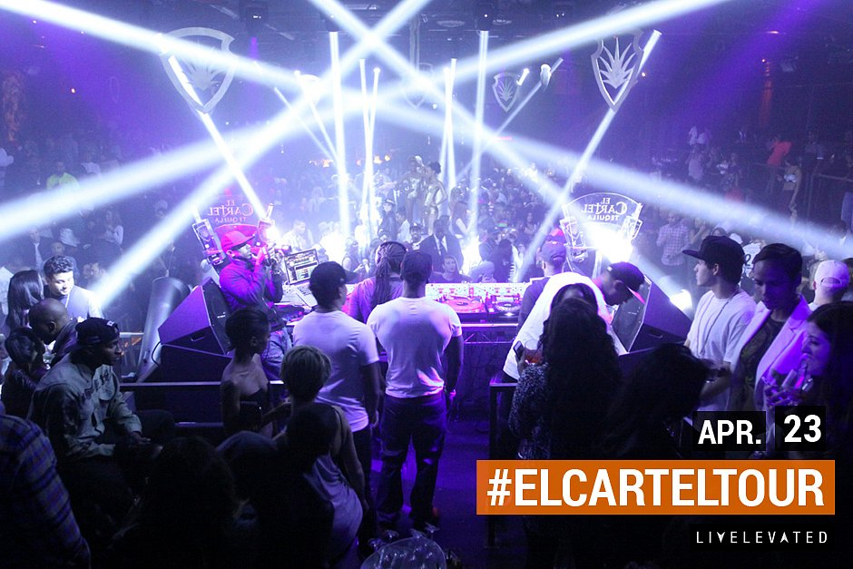 The El Cartel Tour. LA Edition at Create Nightclub