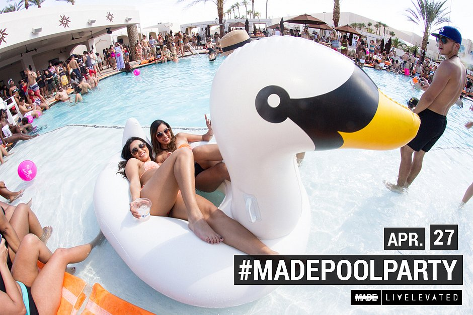 Sunday School, MADEsundays at Daylight Beach Club Las Vegas