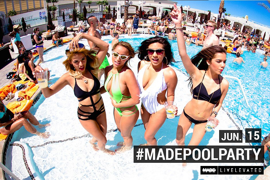 Fun In The Sun, MADEsundays at Daylight Beach Club, Las Vegas