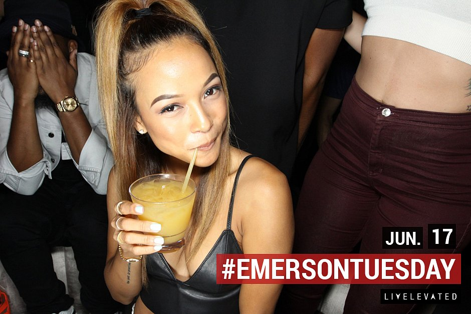 Sip Somethin, Tuesday. at the Emerson Theatre