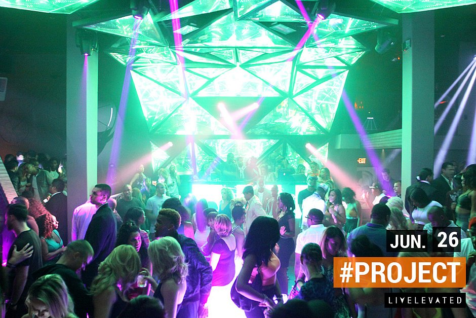 The Preview, The New Project Night Club