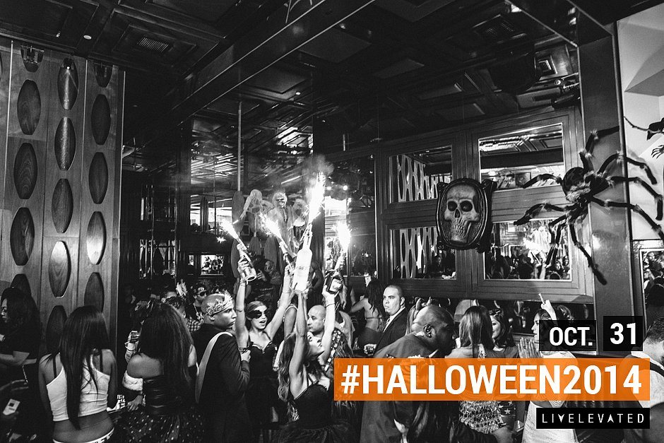 Confessions Of Fire, Halloween at Hooray Henry's
