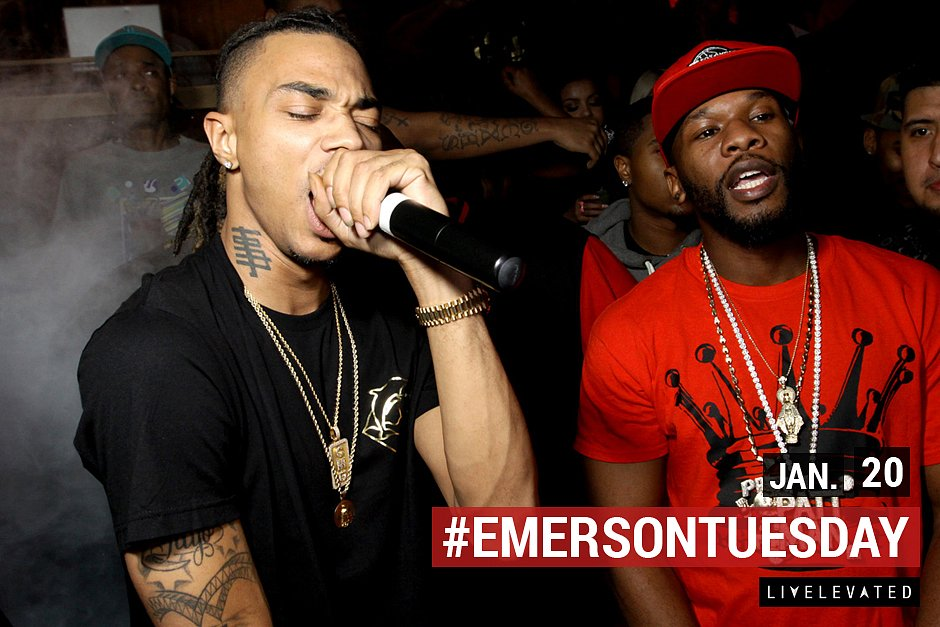 The Livest Ones, Tuesday. at the Emerson Theatre