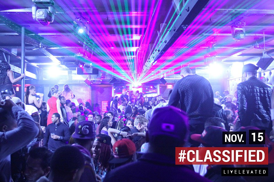 It Rains, We Shine, Classified Thursday's at Blok Nightclub