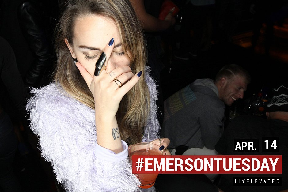 The Vision Is Clear, Tuesday at the Emerson