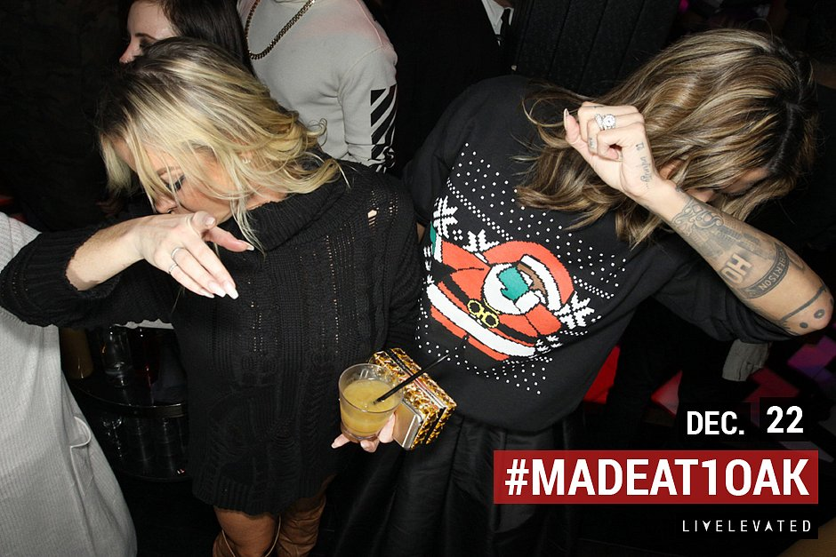 A Little Holiday Dab, MADE at 1Oak Nightclub