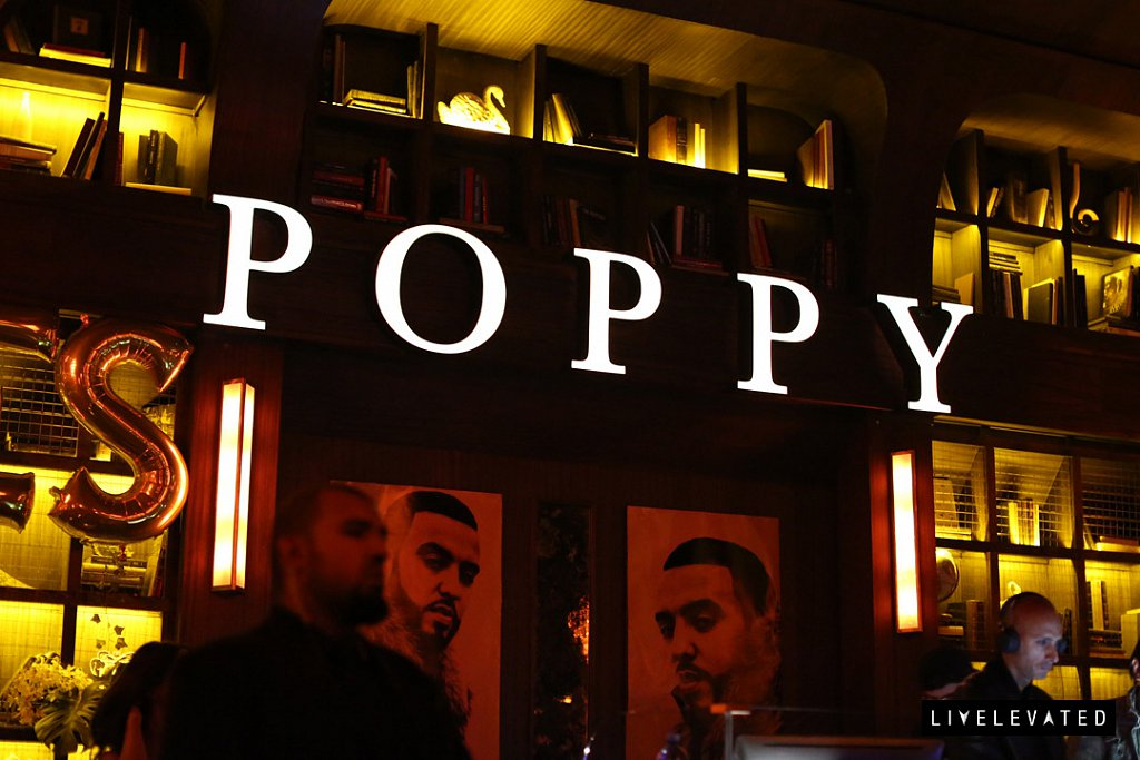 entree fridays at poppy nightclub