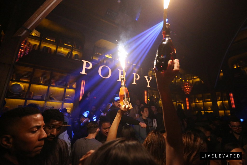 entree friday at poppy nightclub